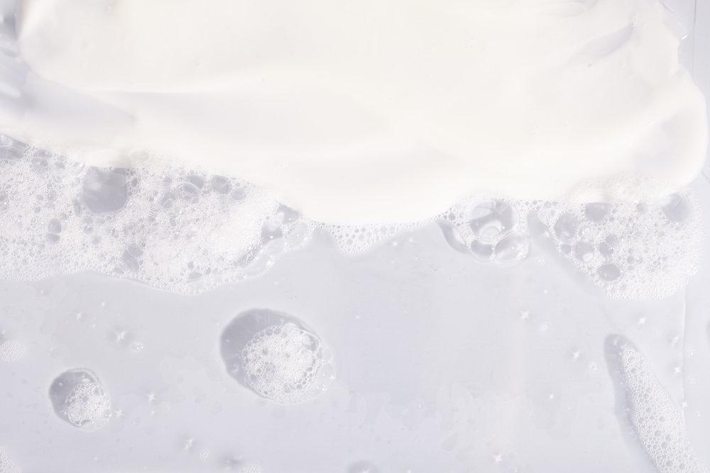 Shampoo and conditioner suds.jpg
