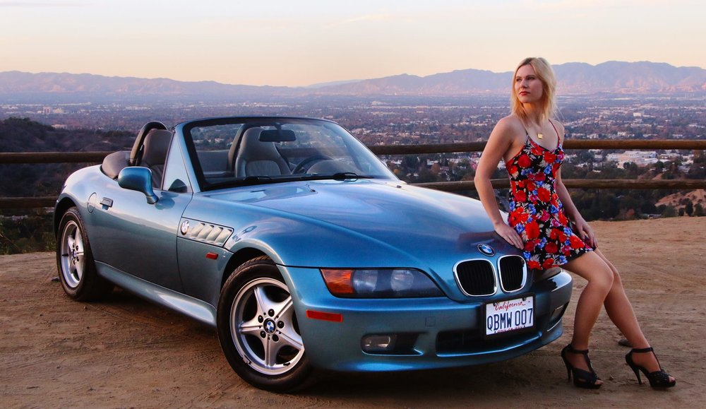 James Bond Lifestyle   GoldenEye BMW Z3 Photographer: Brad Hansen