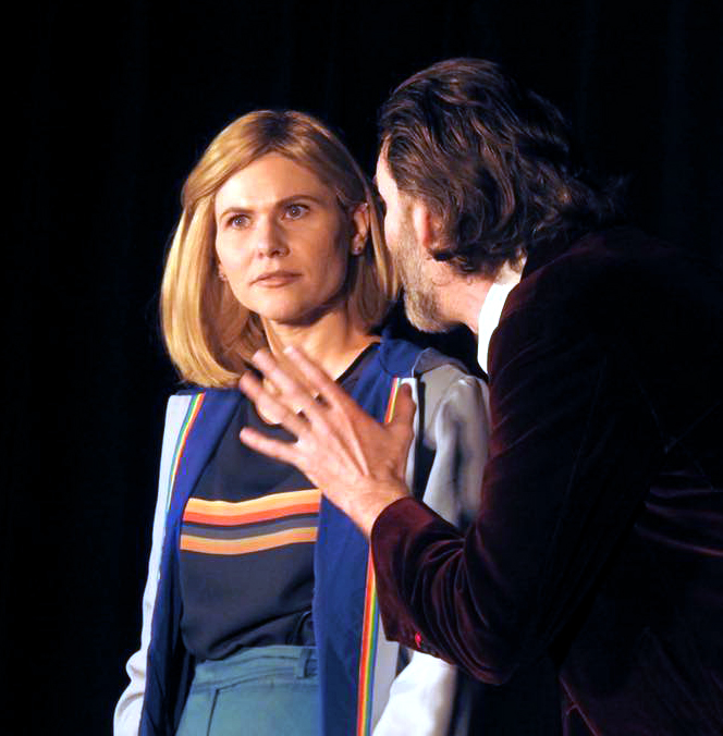 Athena Stamos (13th Doctor) with Kevin Kittridge (12h Doctor)