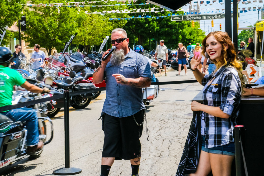 Progressive Motorcycle at Ohio Bike Week Experiential Marketing Event Photography Agency Brand Photography Brand Videography  Experiential Activations O Hello Media