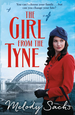 - Melody Sachs wrote her hilarious and irreverent family saga, The Girl from the Tyne, with detailed training and support from Kathy. She was published by Bonnier Zaffre.