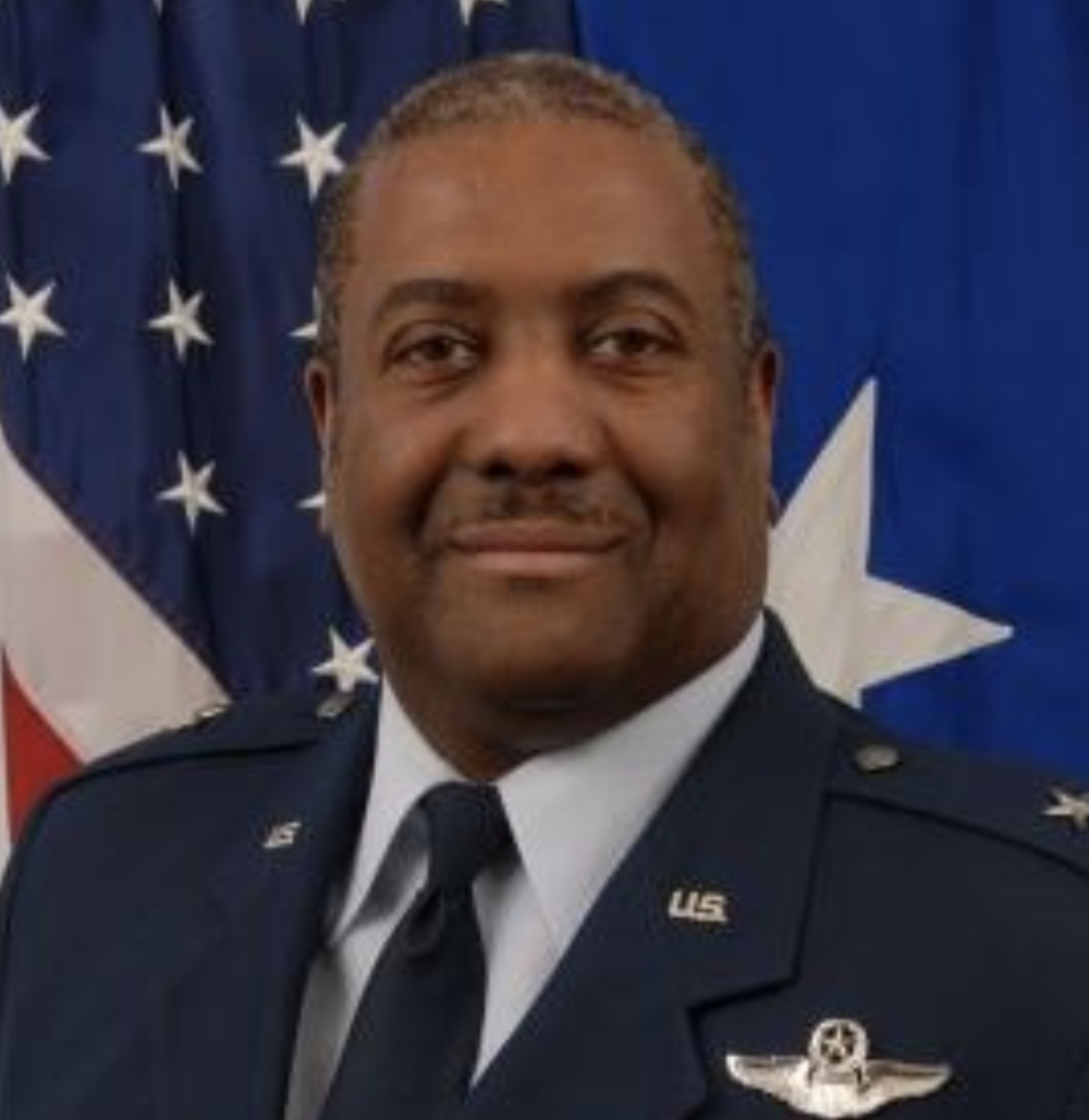 Brigadier General Ernest G. Talbert (USAF–retired)  Chief of Staff, Headquarters, Delaware Air National Guard, inducted into the Delaware Aviation Hall of Fame