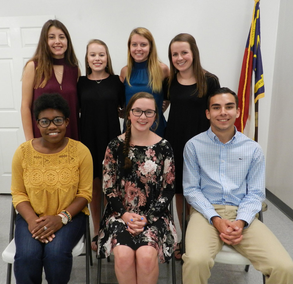 garner optimist club scholarships June 7 2018.jpg