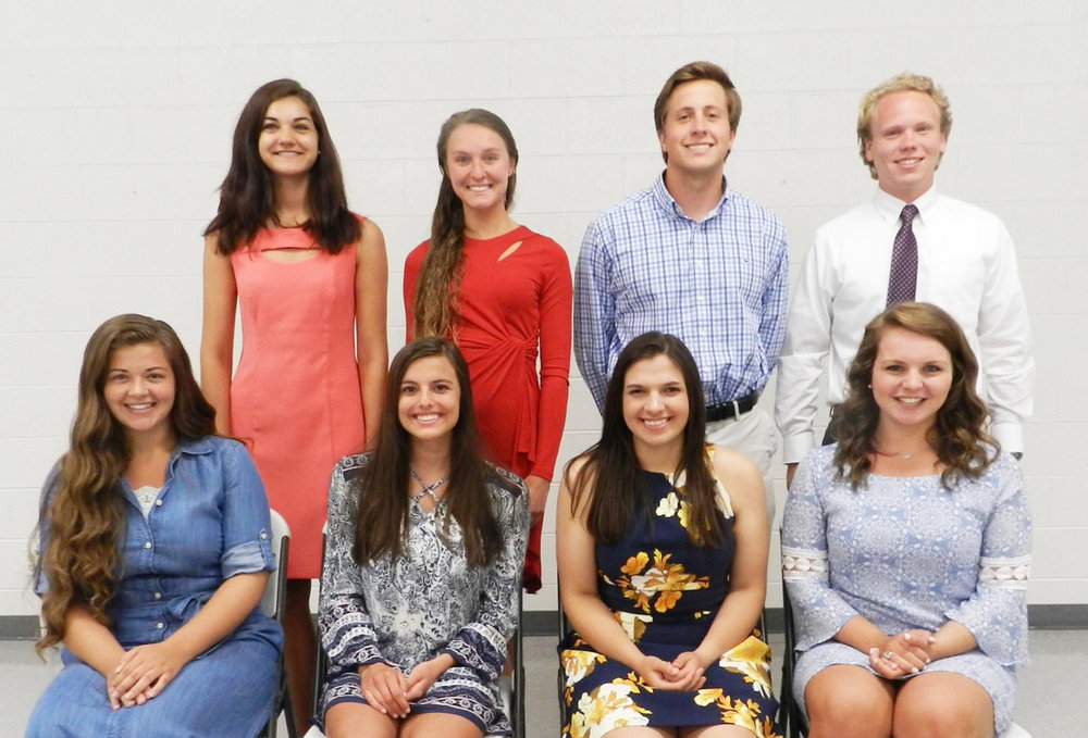 garner optimist club scholarships June 7 2016.jpg