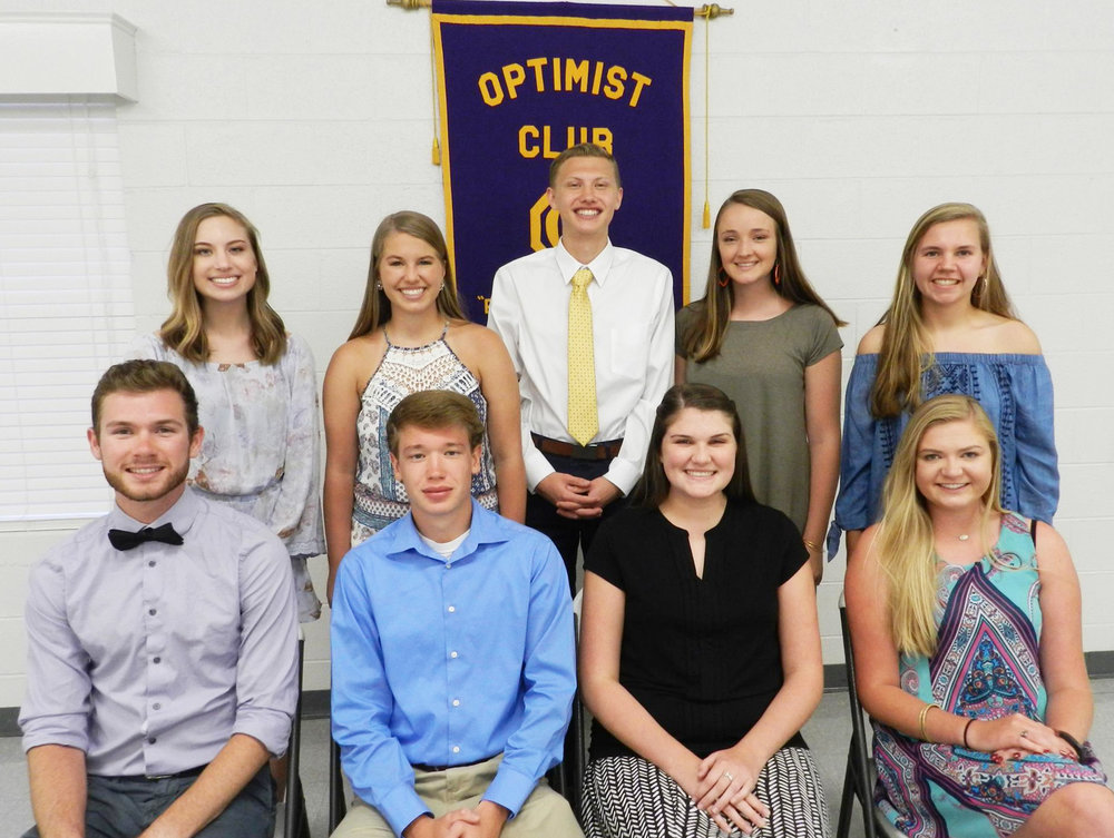 garner optimist club scholarships June6 2017.jpg
