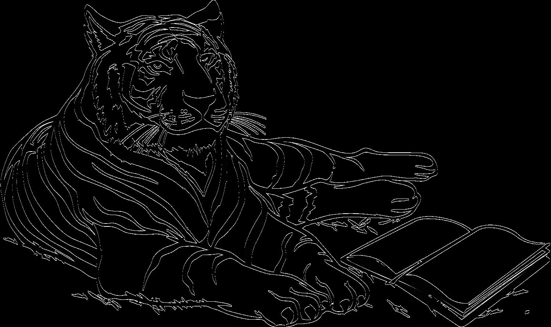 оно амурский тигр фото для раскраски первые мотоциклы