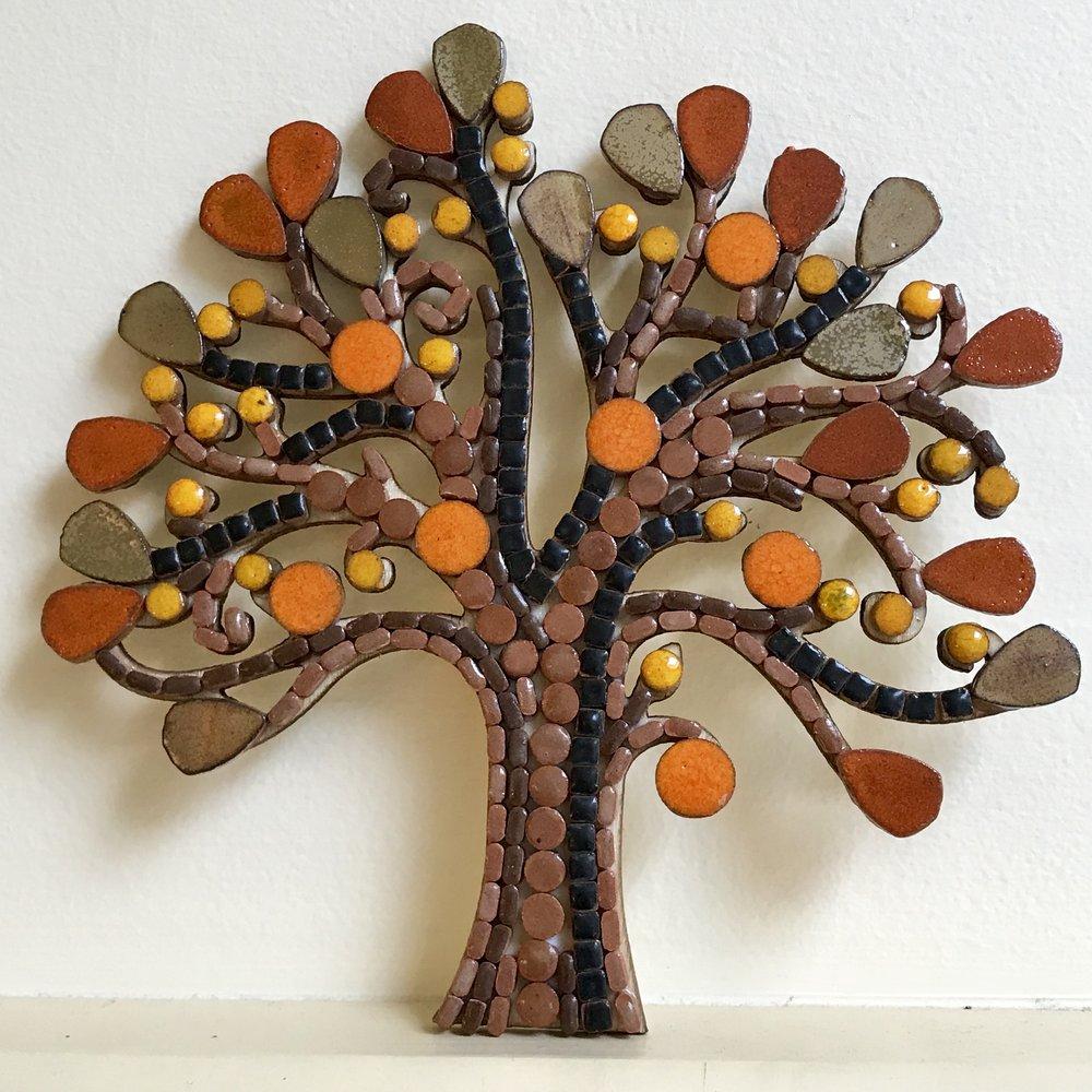 Tiny Tiles Autumn Tree