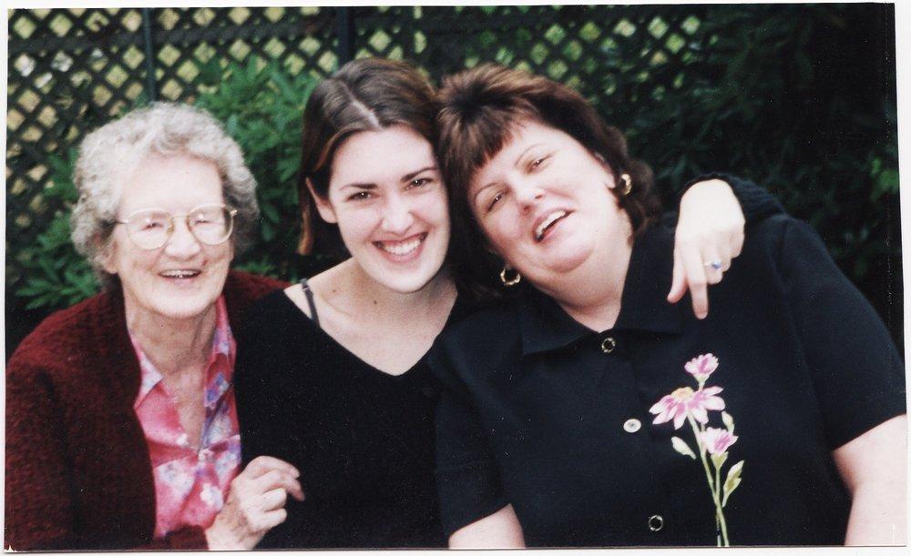 Nana, Me, and Mom