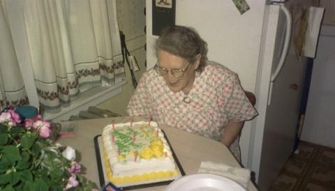 Nana's 90th Birthday, 1994
