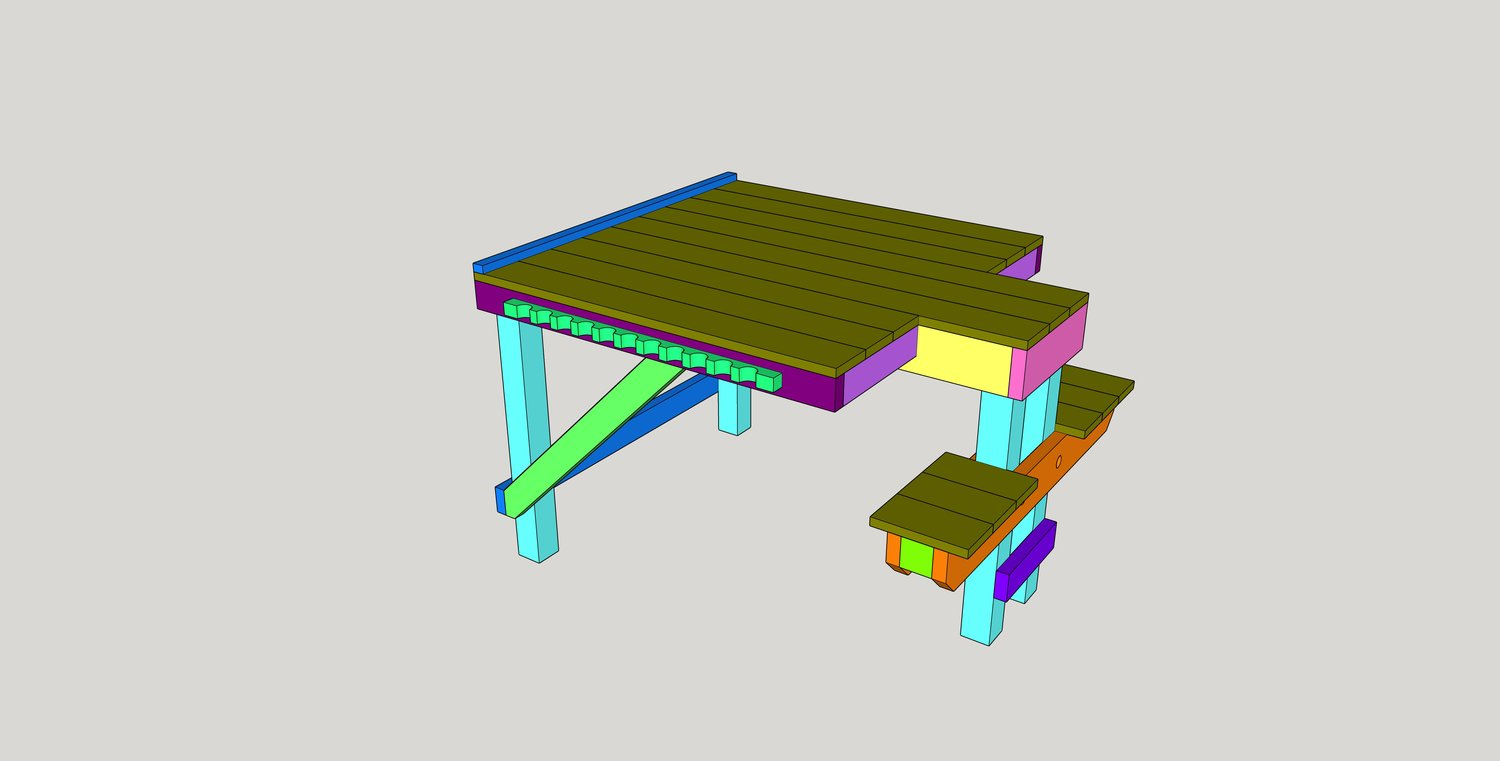 Diy Large Adjustable Shooting Bench Plans Southern