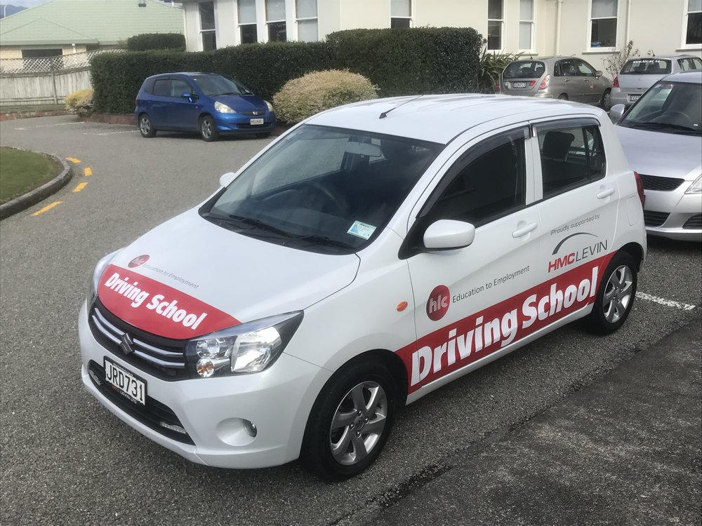 HLC Driving School Car