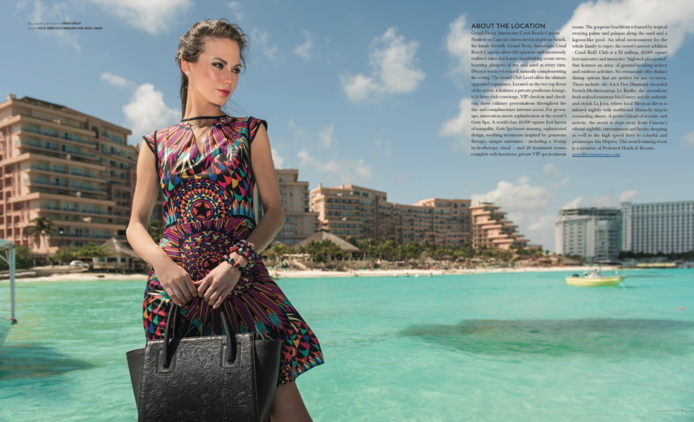 Escaple To Cancun - photographed by Andrew Werner for Resident Magazine May 2017, pages 5&6.png