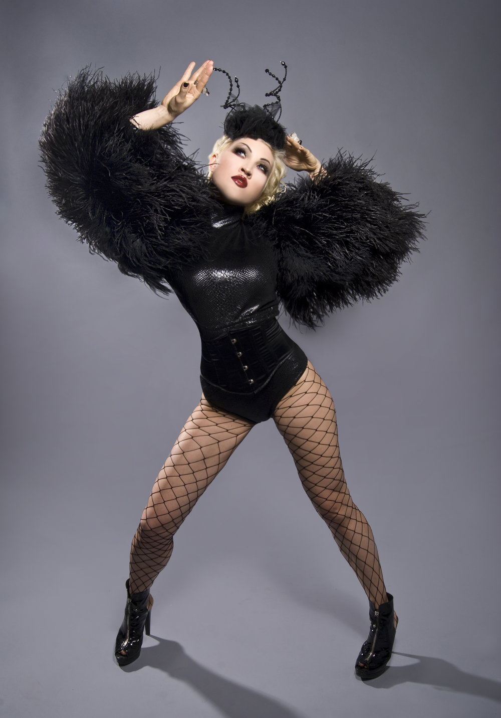 Sasha Gradiva in The Blonds by Andrew Werner.jpg