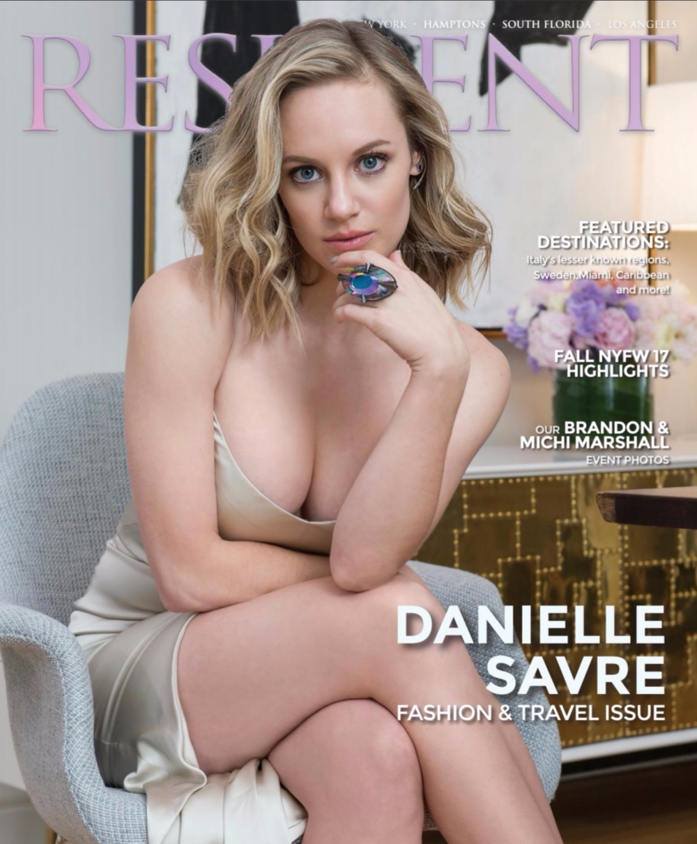 Danielle Savre by photographer Andrew Werner, Resident Magazine March 2017 - Cover.png