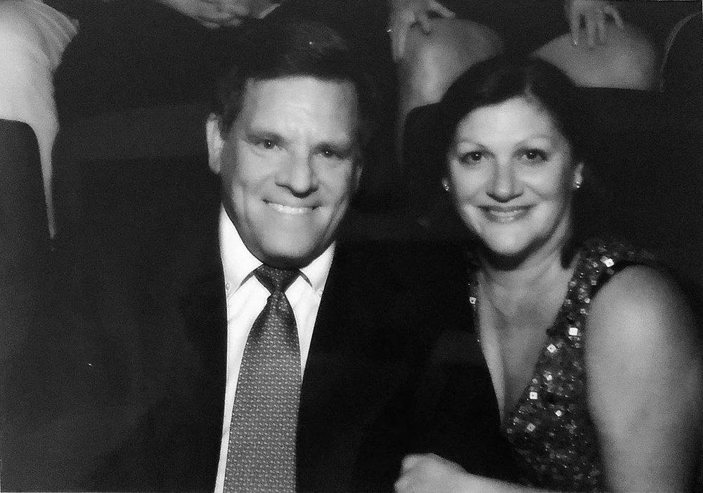 Rocky et son épouse, Marilyn Wirtz, (née Queen).