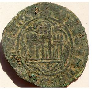 Fig. 1 — A2 UE110 Enrique III-IV Blanca Burgos Coin