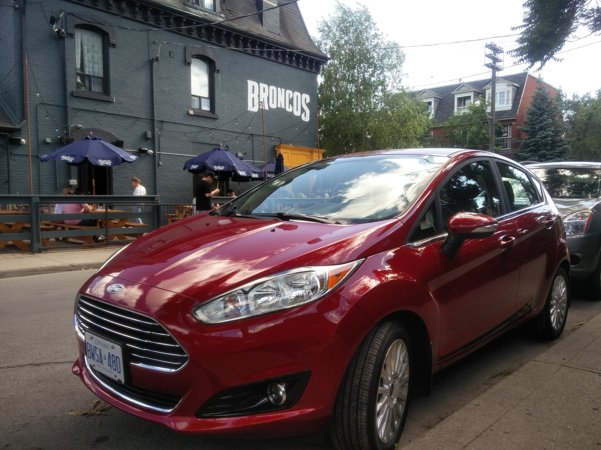 Ford Fiesta at Broncos
