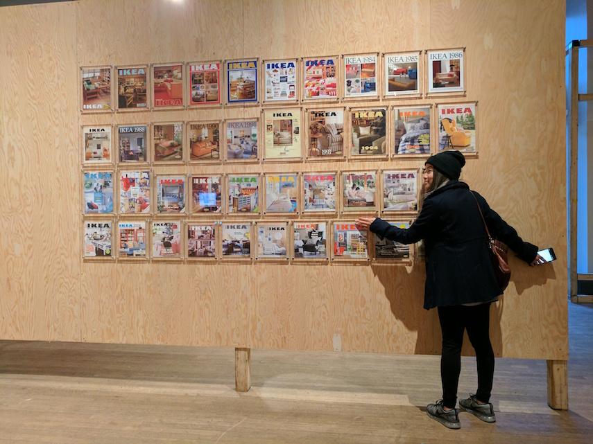 IKEA Canada Exhibit - Catalogues
