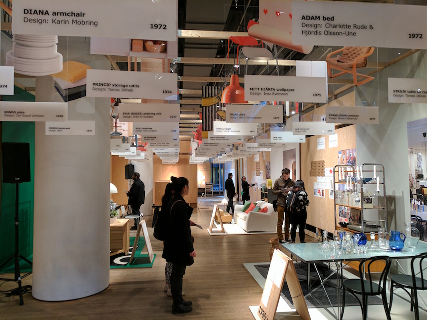IKEA Canada - Then & Now Exhibit