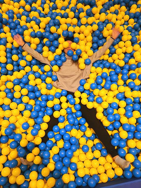 IKEA Canada Exhibit - Ball Pit