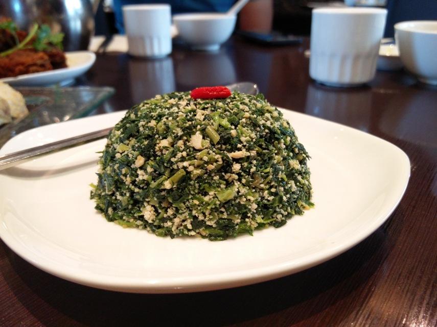 Yu Garden - Mince Wild Veggies