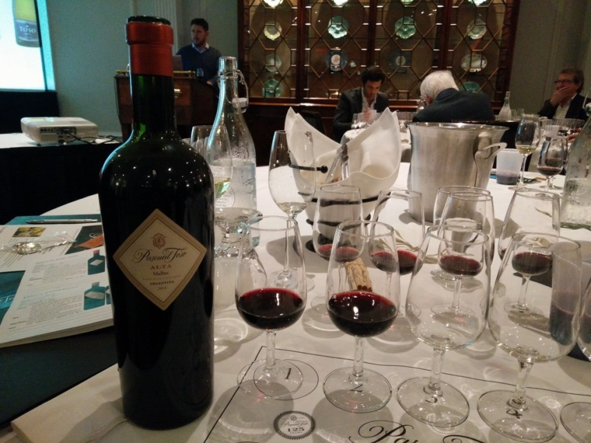 Pascual Toso Wine Tasting