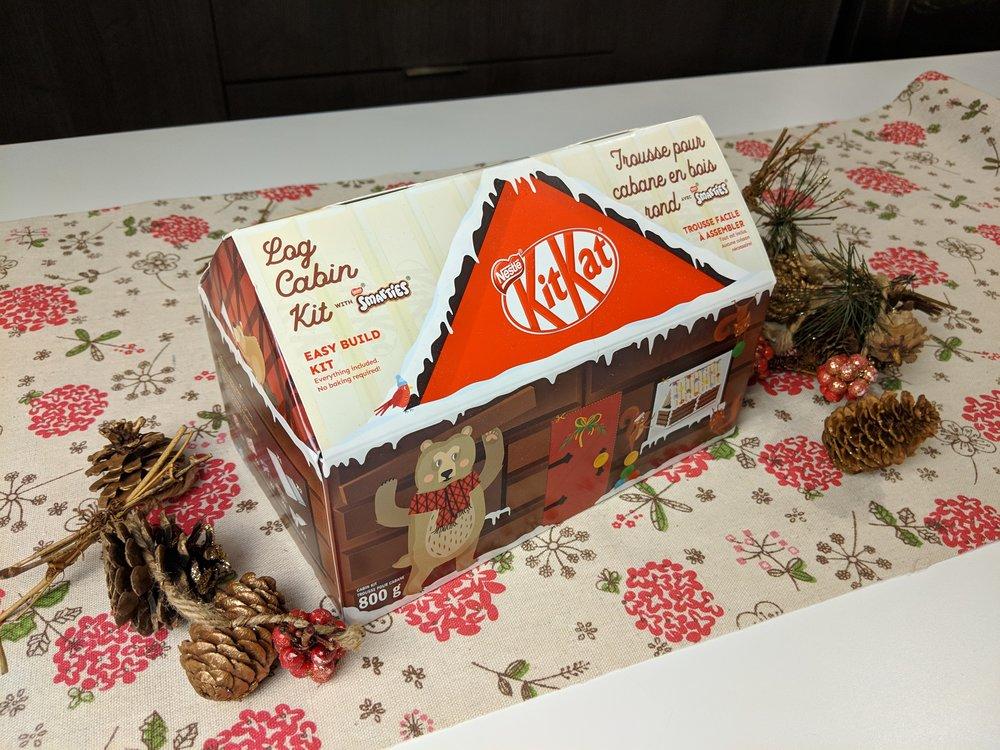 nestle kit kat log cabin holidays christmas