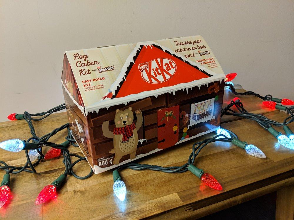 kit kat log cabin kit