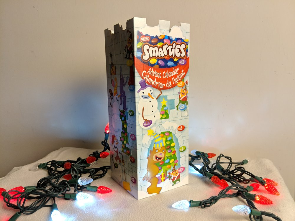 smarties advent calendar nestle canada