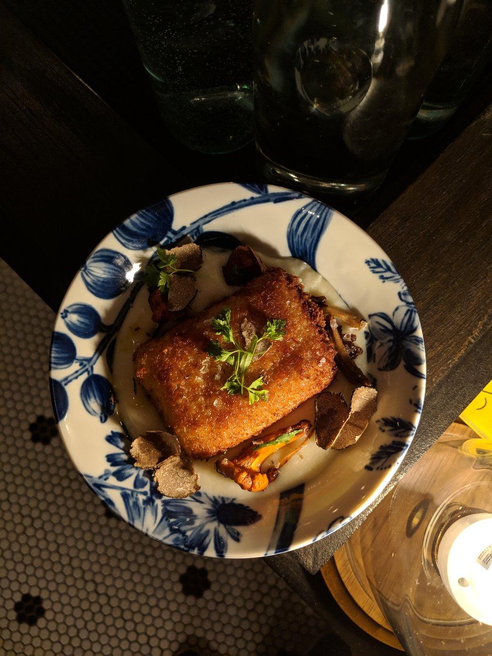 Truffle Potato Croquette
