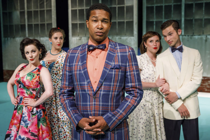 - The Notre Dame Shakespeare Festival jumps and jives with WW II 'Much Ado About Nothing'By Andrew S. Hughes, South Bend Tribune, August 13, 2017