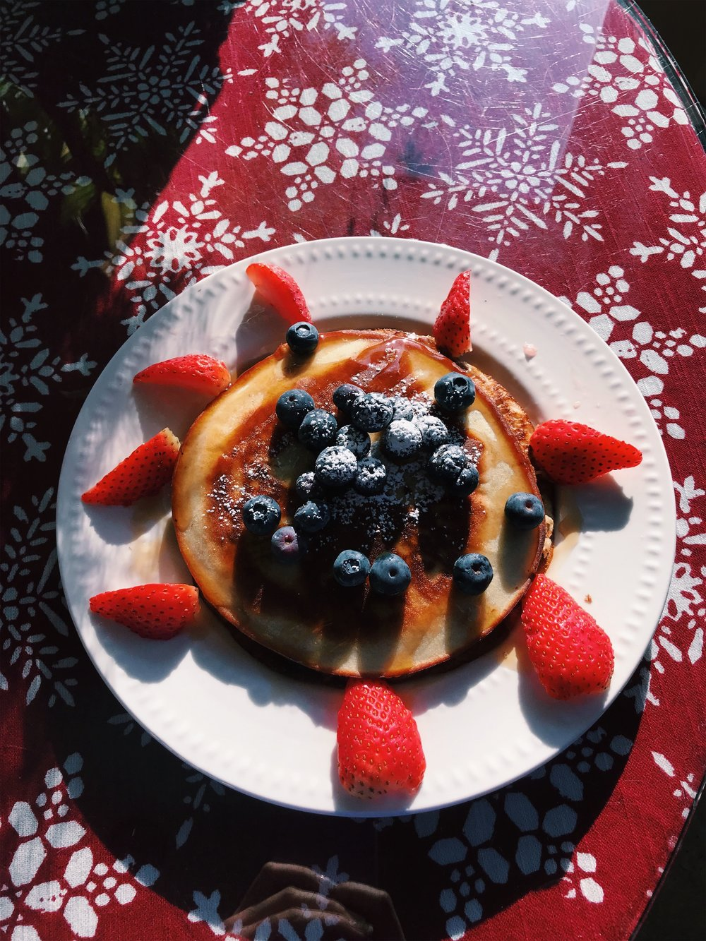 Protein Pancakes and Berries
