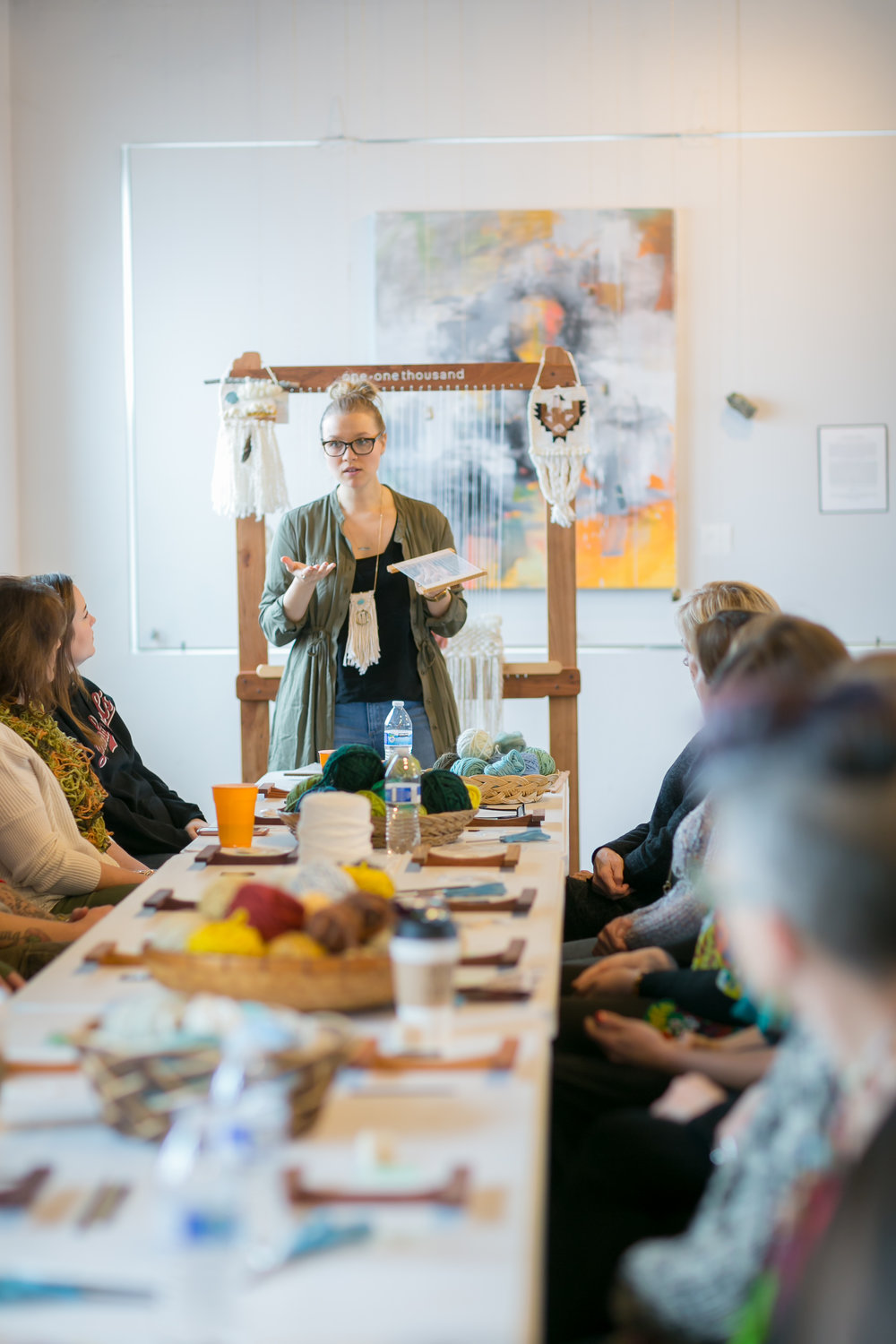 MELISSA JENKINS DESIGNS WEAVING WORKSHOP