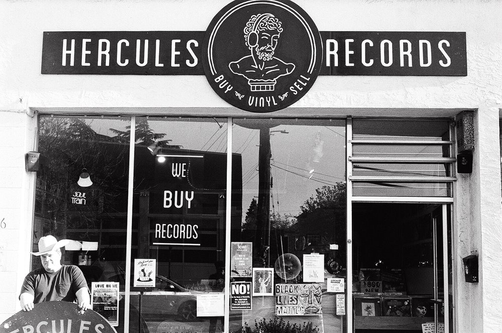 Hercules Records - Keeping the vinyl experience alive in Berkeley