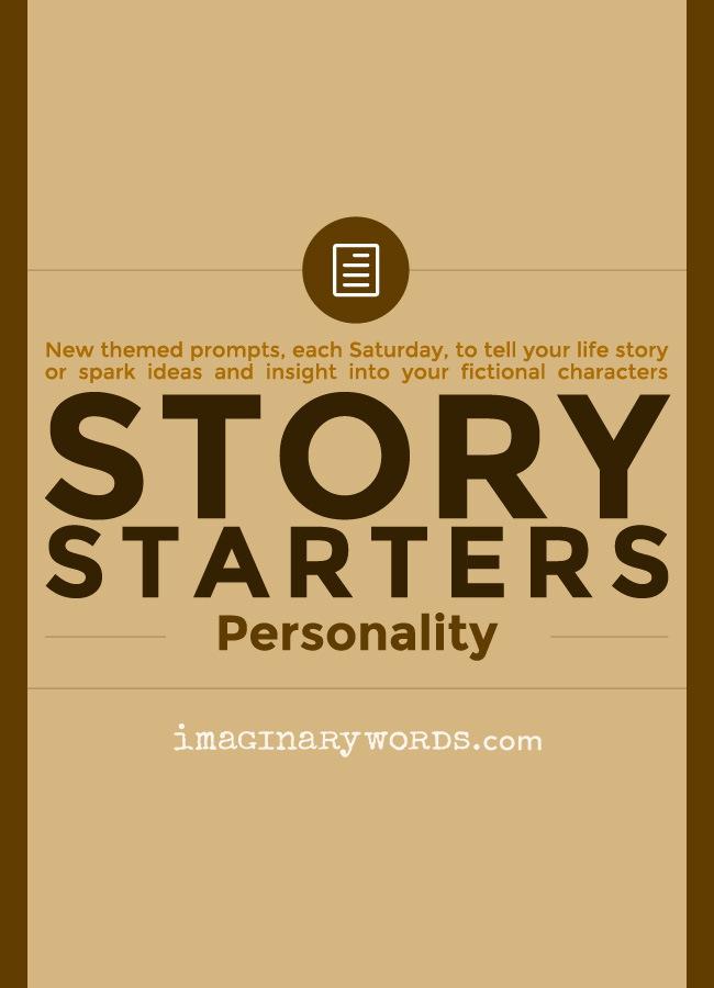 Story Starters: Your Personality