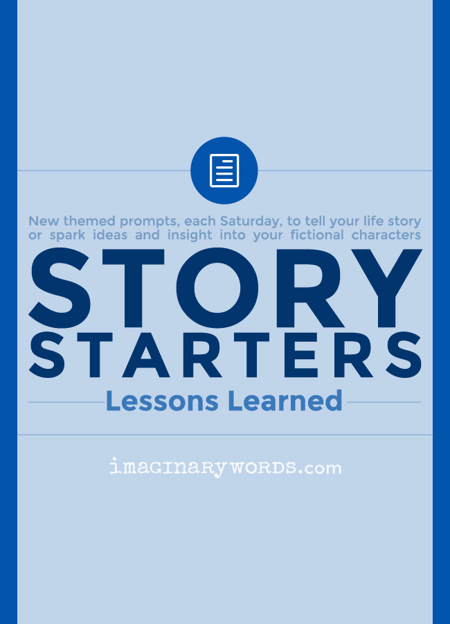 Story Starters: Lessons Learned