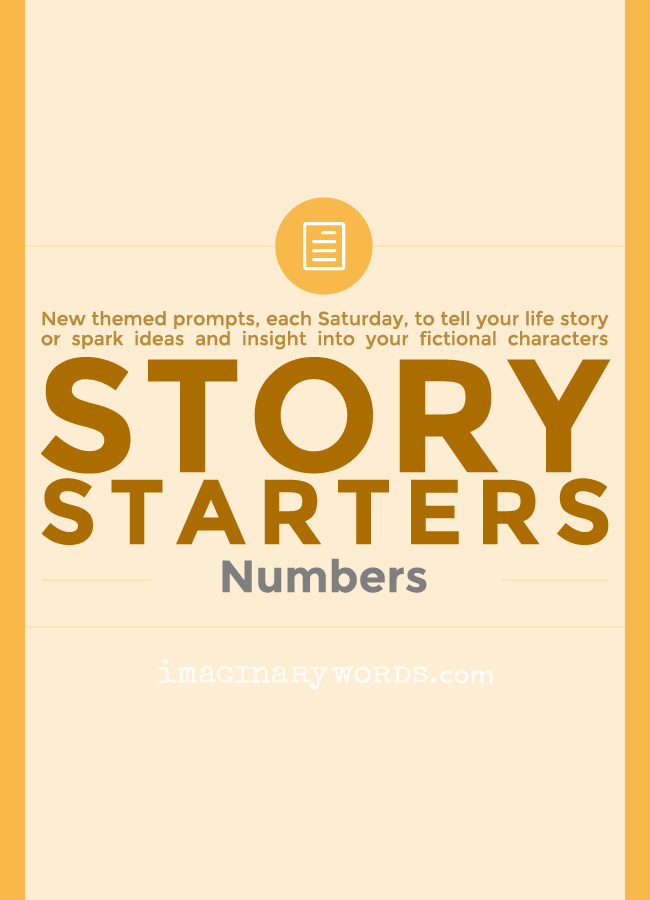Story Starters: Numbers