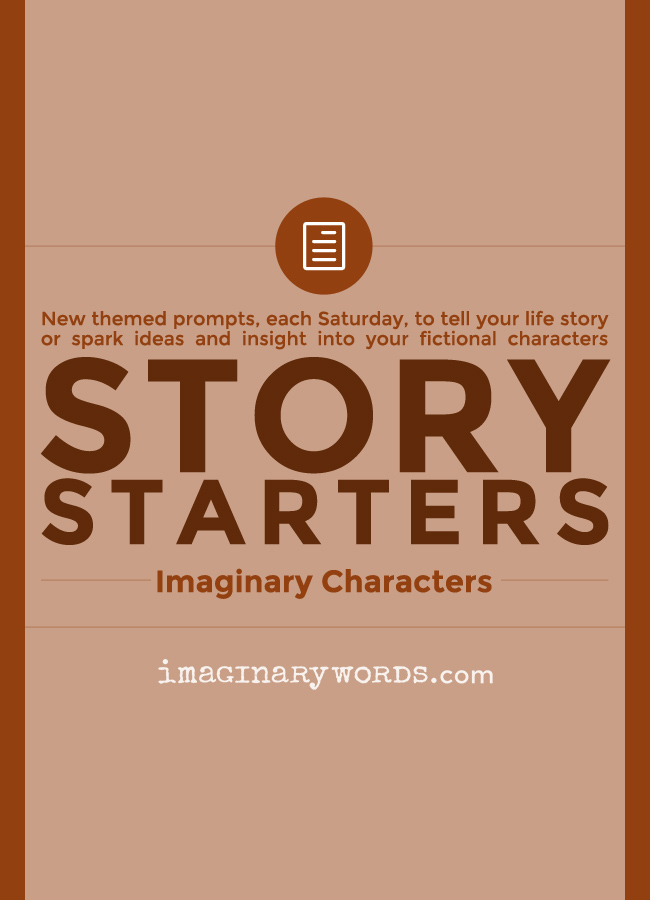 Story Starters: Imaginary Characters