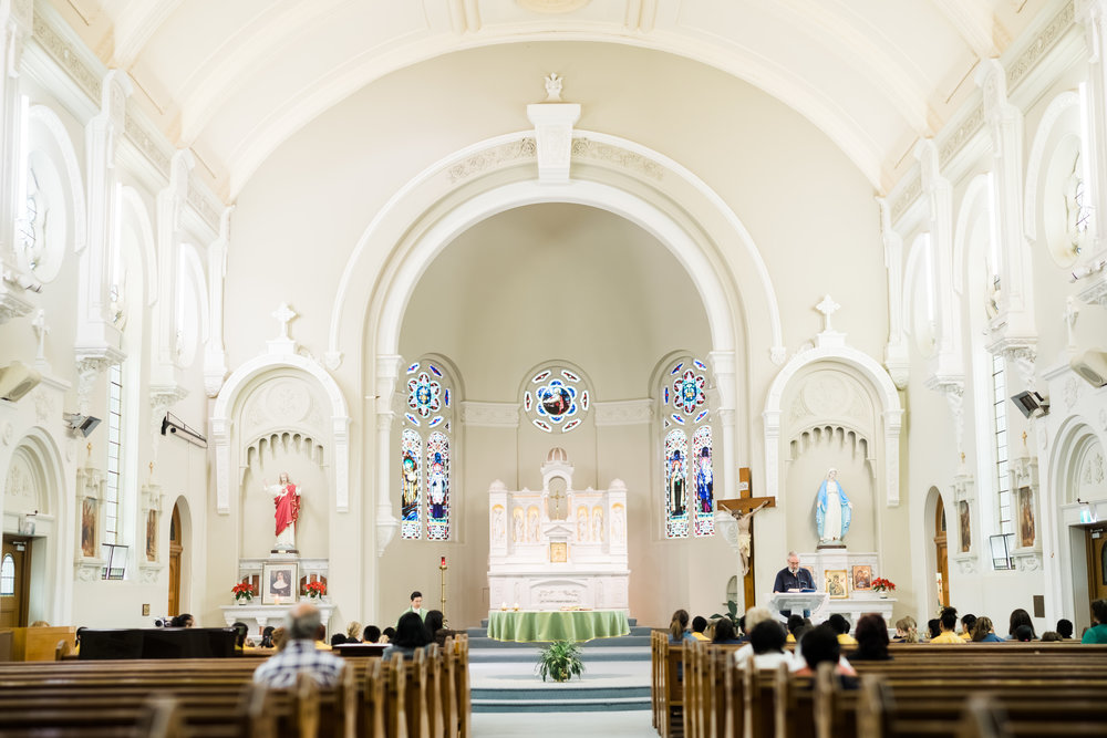 Interior of St Brendan's Church