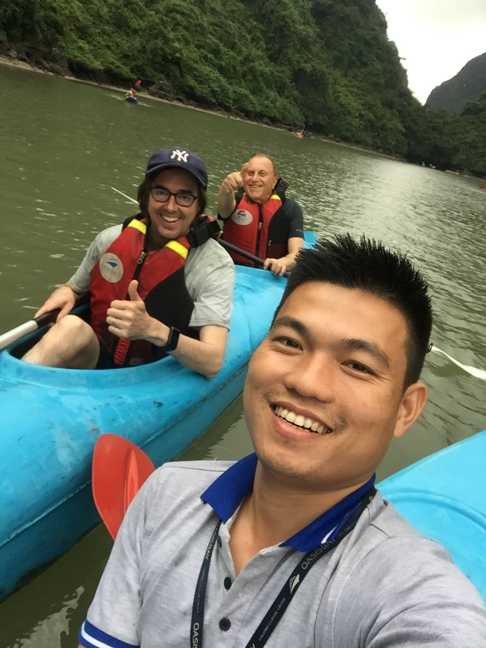 Local tour guide in Halong
