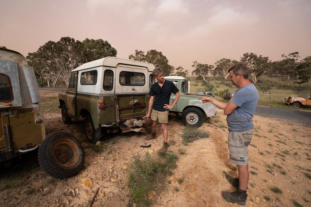Land Rover Heaven, Goulburn NSW