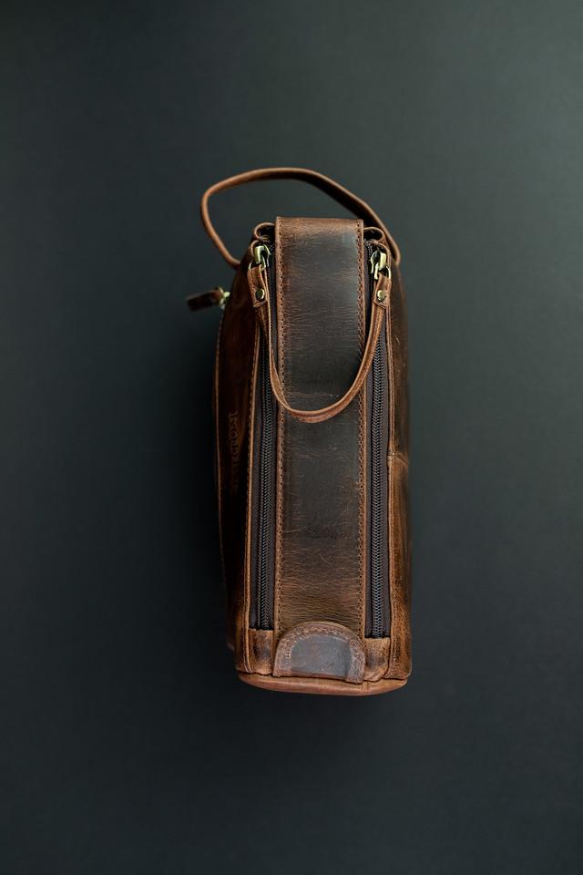 f7551670b4 Leather Toiletry Bag — Kodiak Leather