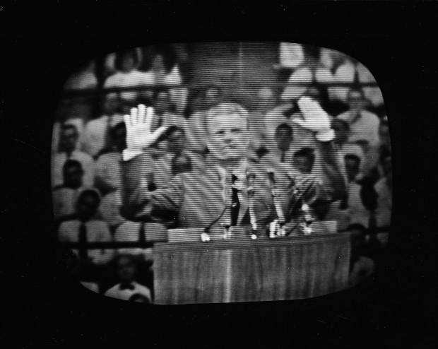 GRAHAM LIVE TV DEBUT 1957