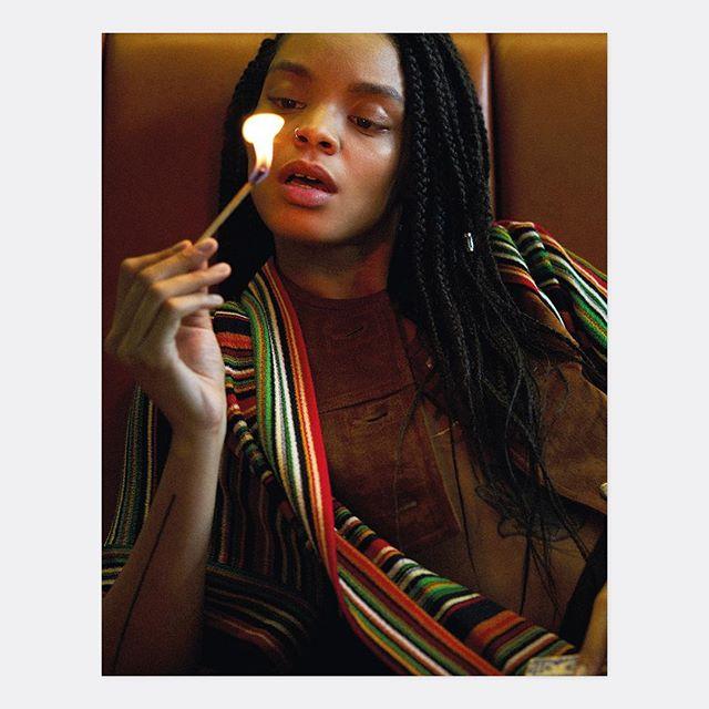The Prophets #marblemag #paulbarrydesignstudio #girlsboysartpleasure #fashion #style #design #magazine #photo #portrait  Shot by: @kristinvicari  Styling by: @stephwilsonshoots  Hair: Tracie Kant Make-up: @khandiz  Nails: @trishlomax  Casting: @londondean  Models: @akira_reid @annatwatton