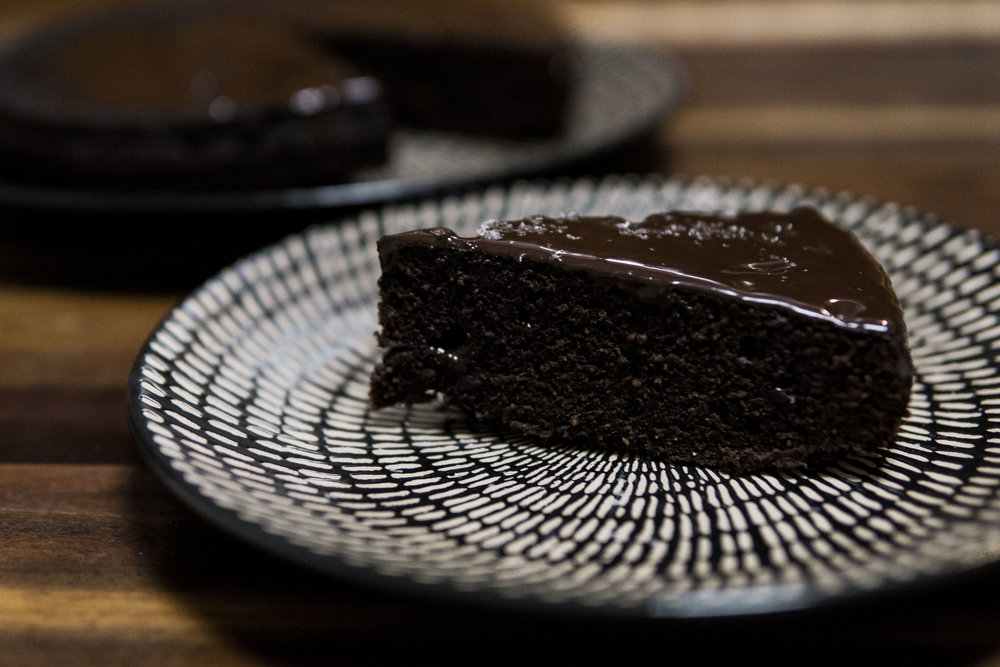 olive oil chocolate cake