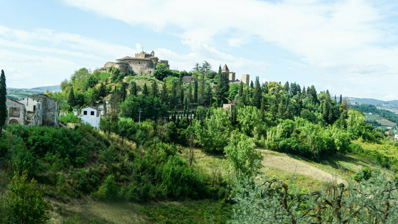 Certaldo, Tuscany.