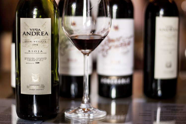 A snap from when I visited the Rioja wine region - Gran Reserva 1998. Not a bad drop ;)