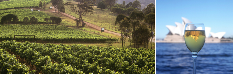 Australia! Land of New World wines :)
