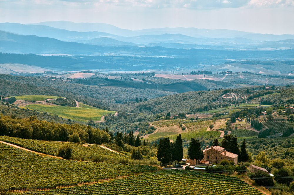 The 'Old World' wine land - Chianti, Italy