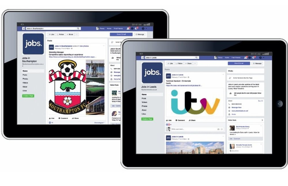 RECRUITMENT MARKETING - REACH THE PASSIVE AUDIENCEPromote your recruitment activity on our network of 250+ Facebook jobs pages, prominent in Facebook search.